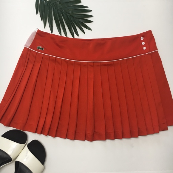 Lacoste Dresses & Skirts - Lacoste Pleated Lightweight Tennis Skirt, sz XXL